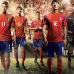 Домашняя форма Южной Кореи для ЧМ 2014