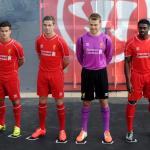 Форма Ливерпуля на сезон 2014-2015 от Warrior