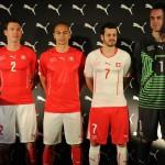 Форма Швейцарии на чемпионате мира 2014.