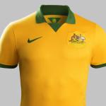 Домашний комплект сборной Австралии 2014 от Nike