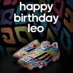 Подарочные бутсы для Месси в день его рождения