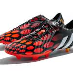 Черные бутсы adidas predator Instinct