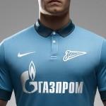 Зенит и Nike представили игровую форму на сезон 2014/15