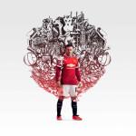 Домашняя форма Manchester United 2014/15