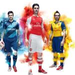 Puma и Арсенал представили форму на сезон 2014/15