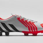 Бутсы adidas predator instinct white/black/red