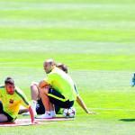 Месси тренируется в новых именных бутсах adidas Messi15