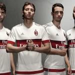 Выездной комплект формы Милана 2015/16.