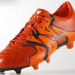 Оранжевые Adidas X15.1