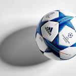 Официальный мяч Лиги Чемпионов 2015/16.