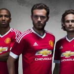 Домашний комплект формы Манчестер Юнайтед 2015/16.