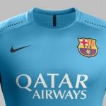 Третий комплект формы Барселоны 2015/16