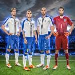 Выездная форма сборной Италии 2015