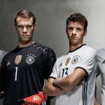 Домашний комплект сборной Германии 2016