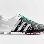 Бутсы adidas ace 15.1 black/matte silver/white