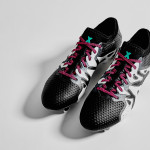 Черно-белые Adidas X 15+ Primeknit