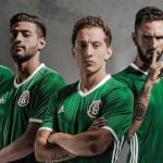 Домашняя форма сборной Мексики 2016