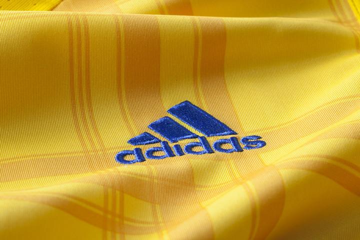 adidas Ukraine Home Jersey 2016