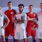 Форма сборной Англии 2016