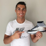 Серебряные Nike Mercurial Superfly CR7 Quinhentos