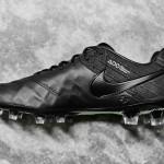 Бутсы Nike Tiempo 6 black/black/volt