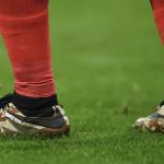 Джейми Варди в бутсах Nike Camo Hypervenom