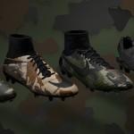 Коллекция бутс Camo Pack от Nike
