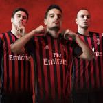 Тающий домашний комплект Милана 2016/17