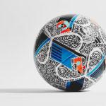 Дизайн мяча для Евро-2016 от DOODLE MAN