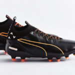 Бутсы Puma evoTOUCH  black/orange