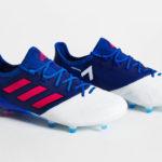 Adidas ACE 17.1 «глубокий синий» с розовым
