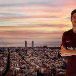 Третий комплект формы Барселоны 2017/18 от Nike