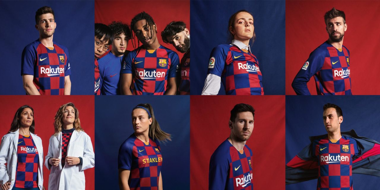 Nike выпустили новую домашнюю форму Барселоны 2019/20